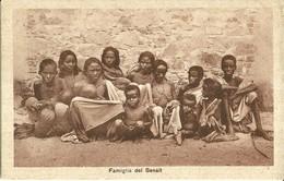 """2765 """" FAMIGLIA DEL SENAIT """" CART.POST. ORIG NON SPED. - Eritrea"""