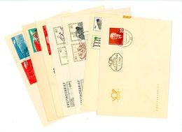 FDC Ex Jahrgang 1961 - Michel über 140 € - DDR