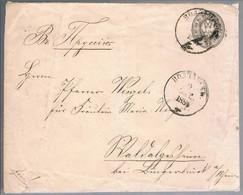 Russia, 1884, Letter - Briefe U. Dokumente