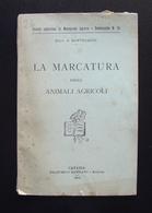 Bartolucci La Marcatura Degli Animali Agricoli 1913 Battiato Catania Tatuaggio - Non Classificati