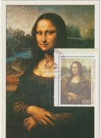 Carte-Maximum FRANCE N° Yvert 3235 (VINCI - LA JOCONDE) Obl Sp Ill Musée Du Louvre (Ed Guy) - Cartoline Maximum