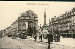 BRUXELLES :   Place De Brouckère  TRAM 48 - Monumenten, Gebouwen