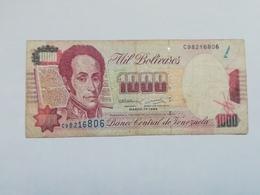 VENEZUELA 1000 BOLIVARES 1994 - Venezuela