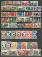 Colonies Françaises - Lot De 670 Timbres Oblitérés Ou Neufs (**, * Ou Sans Gomme) Avec Polynésie Et Réunion - Timbres