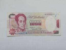VENEZUELA 1000 BOLIVARES 1992 - Venezuela