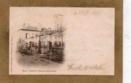 CPA - BRIEY (54) - Aspect De L'entrée Du Pensionnat St-Charles En 1900 - Précurseur - Briey