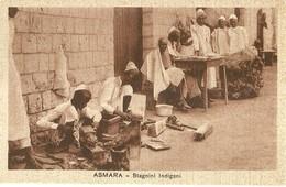 """2770 """" ASMARA - STAGNINI INDIGENI """" CART.POST. ORIG NON SPED. - Eritrea"""
