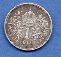 Autriche  -  1 Corona 1914 -- Km  # 2820  -  état  TB+ - Autriche