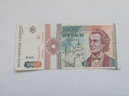 ROMANIA 1000 LEI 1991 - Romania