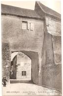 Issy L'eveque Ancien Chateau Porte De Grury - Andere Gemeenten
