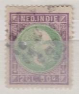 Inde Néerlandaise  1870-86:   Timbre Oblitéré - Indes Néerlandaises