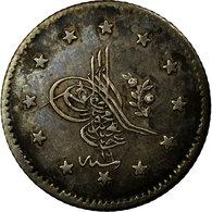 Monnaie, Turquie, Abdul Mejid, Kurush, 1857/AH1255, Qustantiniyah, TB+, Argent - Turquie