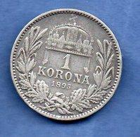 Hongrie -  1 Korona 1895 -- Km  # 484  -  état  TB+ - Hongrie