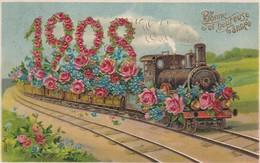 Millesimes Bonne Et Heureuse Annee 1908 - New Year