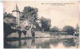 34 ENVIRONS  DE MONTPELLIER  LES BORDS  DU LEZLE RESTAURANT   RIMBAND   TBE  HE665 - Montpellier