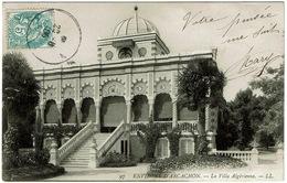 CPA Cap-Ferret 33. La Villa Algérienne. 1906 - Autres Communes