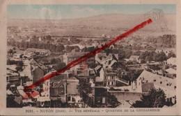 (Oise) Noyon - 60 - Vue Générale, Quartier De La Gendarmerie (circulé 1950) - Noyon