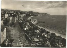 W1316 San Remo Sanremo (Imperia) - Corso Trento E Trieste - Panorama / Viaggiata 1956 - San Remo