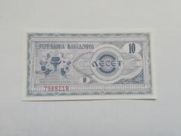 MACEDONIA 10 DINARI 1992 - Macedonia