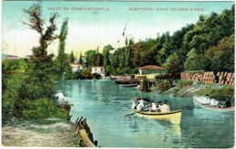 Constantinople. Bosphore. Eaux Douces D'Asie. Salut De Constantinople - Turquie