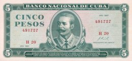 Cuba 5 Pesos, P-103a (1967) - UNC - Kuba