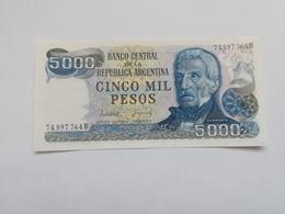 ARGENTINA 5000 PESOS 1983 - Argentina