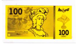Billet De Jeu, Marie-Antoinette - Fictifs & Spécimens
