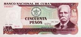 Cuba 50 Pesos, P-111 (1991) - UNC - Cuba