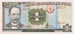 Cuba 1 Peso, P-112 (1995) - UNC - Cuba