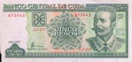 Cuba 5 Pesos, P-116a (1997) - UNC - Cuba