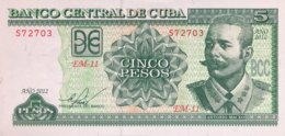 Cuba 5 Pesos, P-116m (2012) - UNC - Cuba
