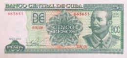 Cuba 5 Pesos, P-116n (2014) - UNC - Cuba