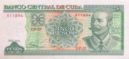 Cuba 5 Pesos, P-116p (2016) - UNC - Cuba