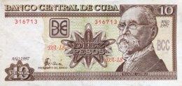 Cuba 10 Pesos, P-117a (1997) - Very Fine + - Cuba