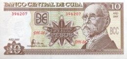 Cuba 10 Pesos, P-117h (2005) - UNC - Cuba