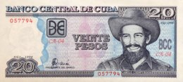 Cuba 20 Pesos, P-118a (1998) - UNC - Kuba