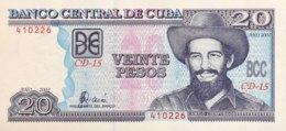 Cuba 20 Pesos, P-118d (2002) - UNC - Cuba