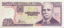 Cuba 50 Pesos, P-119 (1998) - UNC - Kuba
