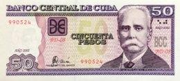 Cuba 50 Pesos, P-123a (2002) - UNC - Cuba