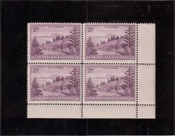 VV7 - NORFOLK  PO 4 ** MNH De 1947 En Bloc De 4 - Baie De BALL - - Ile Norfolk