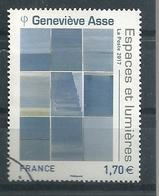 FRANCIA 2017 - Geneviève Asse - Cachet Rond - France