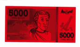 Billet De Jeu, Jules César, Empereur, Rome, Glaive - Vieux Papiers