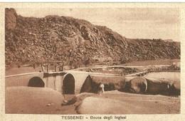 """2782 """" TESSENEI - BOCCA DEGLI INGLESI """" CART.POST. ORIG  NON SPED. - Eritrea"""