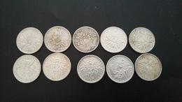 Pieces Argent  5f - France