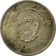 Monnaie, Libya, Idris I, 20 Milliemes, 1965/AH1385, TB+, Copper-nickel, KM:9 - Libye