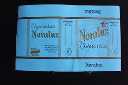 Vi~Pa / Algerie - Lot De Trois Etiquettes - Cigarettes Noralux - Fabriquées Chez Bencherchali Blida - Alger . - Boites D'allumettes - Etiquettes
