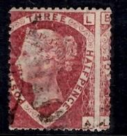 Grande-Bretagne YT N° 50 Belle Variété Piquage à Cheval Oblitéré. B/TB. A Saisir! - 1840-1901 (Victoria)