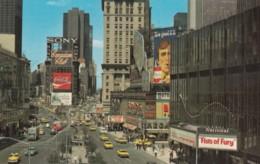 New York City, Times Square Street Scene, Advertisement Billboards Coca-cola, Cigarettes, C1970s Vintage Postcard - Time Square