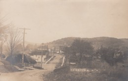 Venetten New York, View Of Town From Down Road, C1900s Vintage Real Photo Postcard - NY - New York