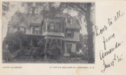 Yonkers New York, Westchester County City, Seton Academy 337 South Broadway, C1900s Vintage Postcard - NY - New York